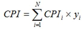 ИПЦ формула